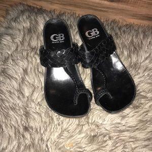 Cork wedge slip on Sandals